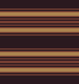 retro pattern with horizontal brown stripes vector image