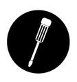 screwdriver icon design vector image