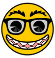 smile cartoon vector image vector image