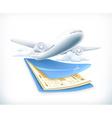 Flights vector image vector image