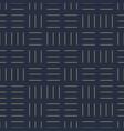 geometric seamless dash pattern - goldish vector image