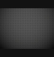 gray fabric canvas pattern vector image vector image