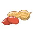 peanuts icon cartoon style vector image
