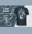 snake wrapped guitar with skulls and a microphone vector image vector image
