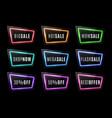 big sale shop now best offer discount neon sign vector image vector image