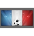 European Football Championship in France vector image vector image