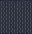 geometric seamless vertical wavy pattern vector image vector image