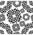 pattern in ethnic style siberian ornament vector image vector image