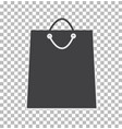 sale shopping bag icon shopping bag sign vector image vector image
