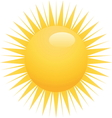 sun3 resize vector image vector image