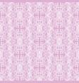vintage decorative pattern vector image vector image