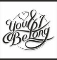 you amp i be long 5 vector image vector image