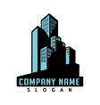 commercial real estate icon vector image vector image