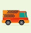 free shipping car flat colorful vector image vector image