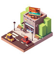 isometric travel agency vector image