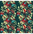 sketch entangle seamless floral pattern vector image vector image