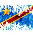 Democratic Republic of Congo vector image