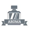 aroma logo vintage style