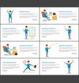 business process idea and success businessman vector image vector image