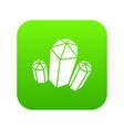 diamond icon simple style vector image vector image