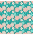 Elegant dark blue seamless pattern vector image vector image
