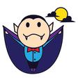 Fly Dracula vector image