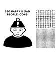 head stress icon with bonus vector image vector image