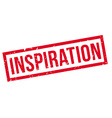 Inspiration rubber stamp vector image vector image
