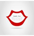 Lip vector image vector image