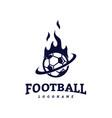 soccer football badge logo design templates sport vector image vector image