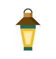 traditional top lantern design vector image vector image