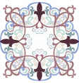 Vintage lace pattern in Eastern style vector image vector image