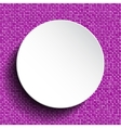 White circle Sequin background Eps 10 vector image