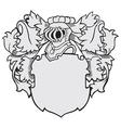 aristocratic emblem No40 vector image vector image