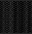 black metal texture background geometric pattern vector image vector image