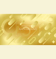 bright golden abstract backdrop vector image vector image