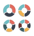 Circle Arrows vector image vector image