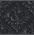 Damask seamless pattern element Elegant