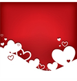 Hearts valentine card vector | Price: 1 Credit (USD $1)