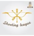 logo emblem label or logotype elements vector image vector image