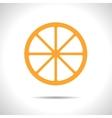 orange icon Eps10 vector image vector image
