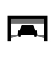 logo car service station vector image