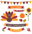 thanksgiving set vector image