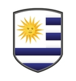 argentina emblem isolated icon vector image