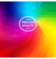 Colorful rainbow background vector image vector image