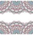 Floral oriental pattern vector image vector image