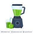 fruit juice squeezer or blender kitchen appliance vector image