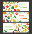 natural food - set modern colorful vector image