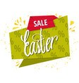 quote sale easter day background design the vector image vector image