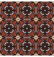 tiled pattern ethnic floral print vector image vector image